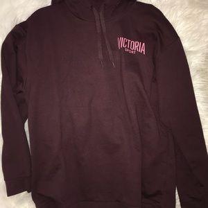 maroon hoodie Victoria Sports